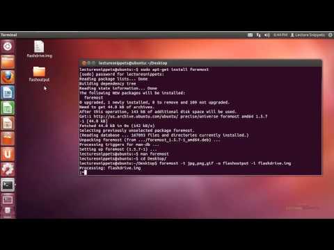 Ubuntu 12.04 Forensics - File Carving using Foremost