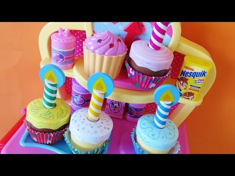Toy Magic Oven Bake Decorate Cupcakes Muffins Minnie Mouse