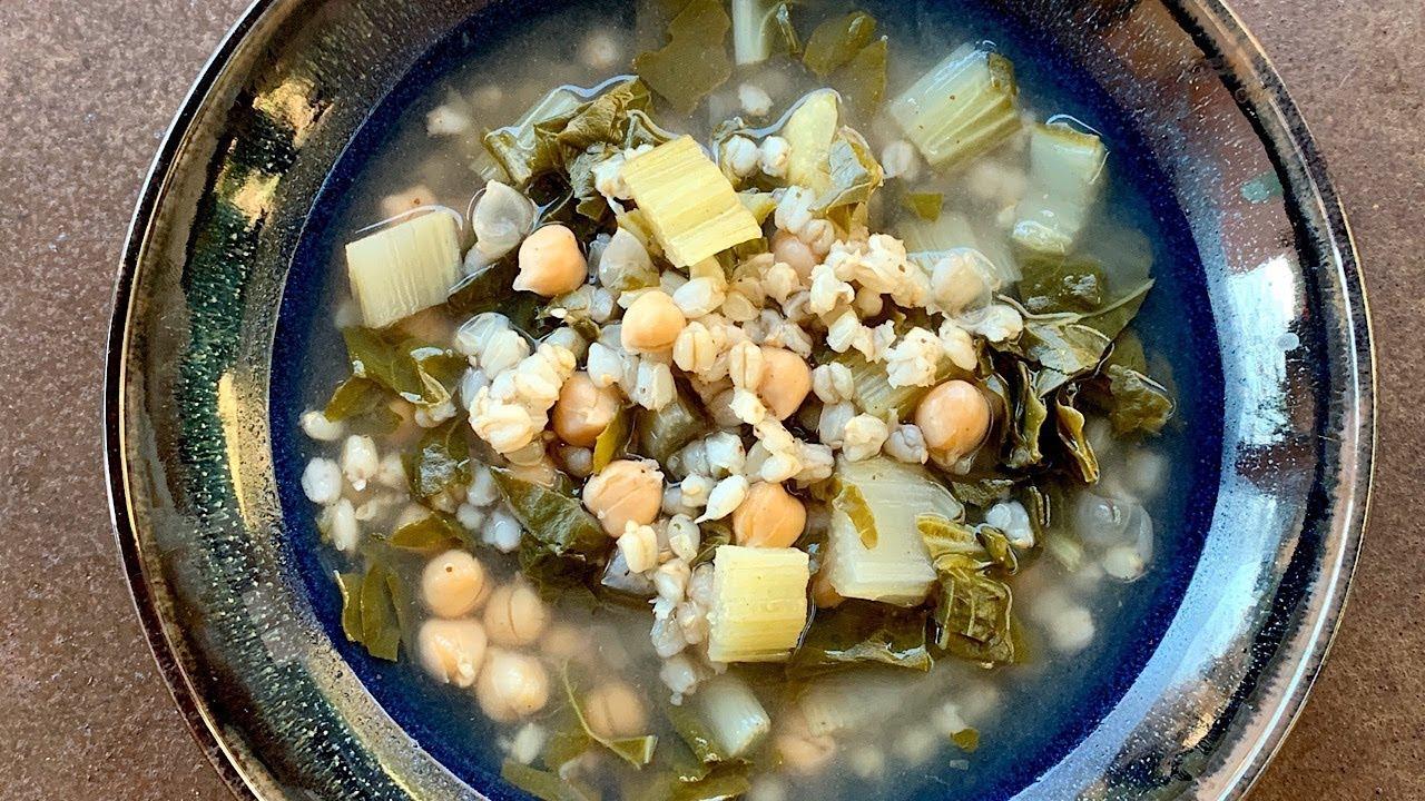 Soupe De Blettes A L Armenienne Youtube