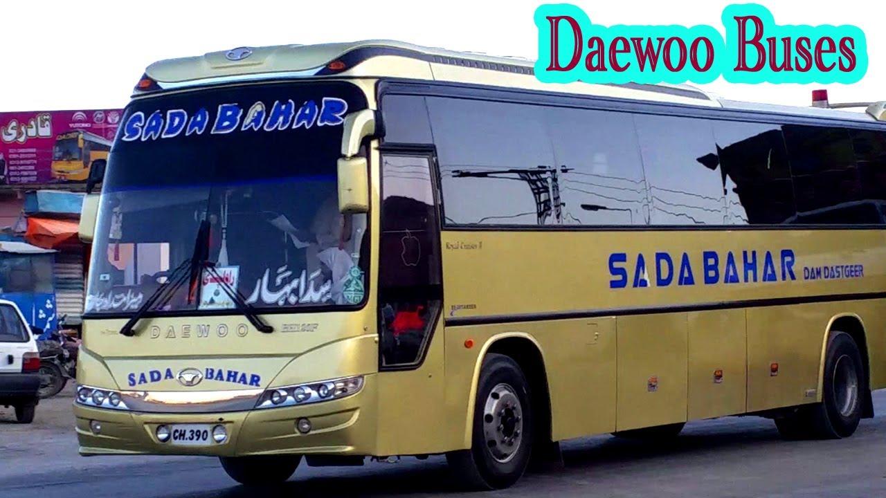 Pakistan Daewoo Bus Service Quetta Buses Youtube
