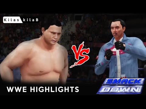 Jokowi Vs Prabowo |  Parodi WWE Video Highlight