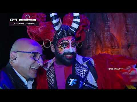 Ronda de Ganadores – Backstage Agarrate Catalina – Carnaval 2020