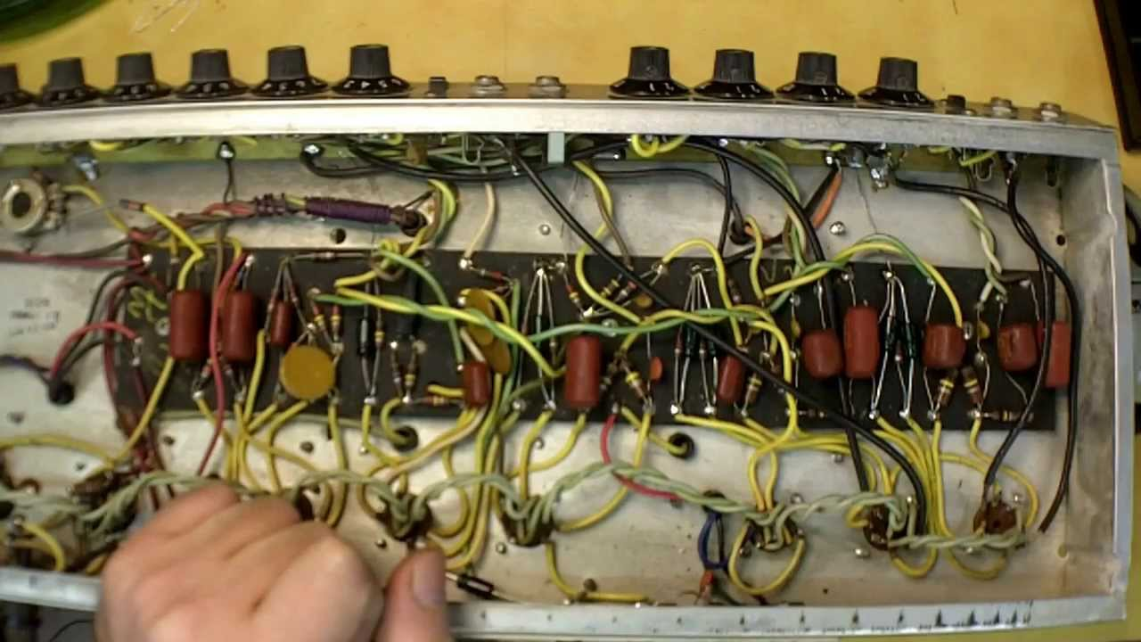 replacing capacitors in a 1971 fender twin reverb amplifier plus rh youtube com twin reverb speaker wiring twin reverb wiring [ 1280 x 720 Pixel ]
