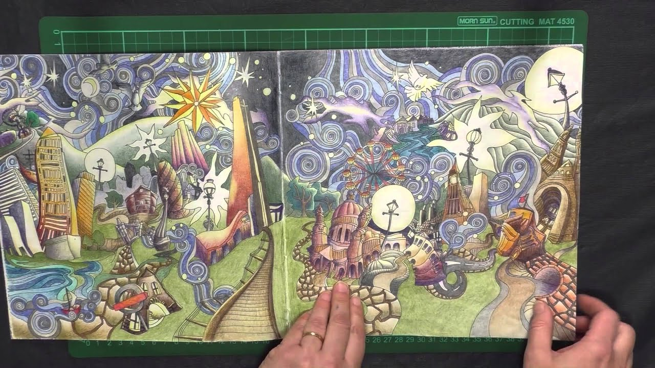 Colouring Book Review: Artist Colouring books. - YouTube
