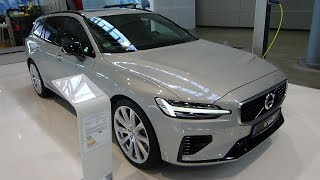 2019 Volvo V60 T8 Twin Engine R-Design - Exterior and Interior - i-Mobility Stuttgart 2019