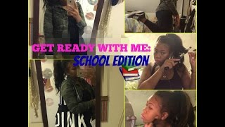 Get Ready With Me For School! Hair, Makeup & Outfit