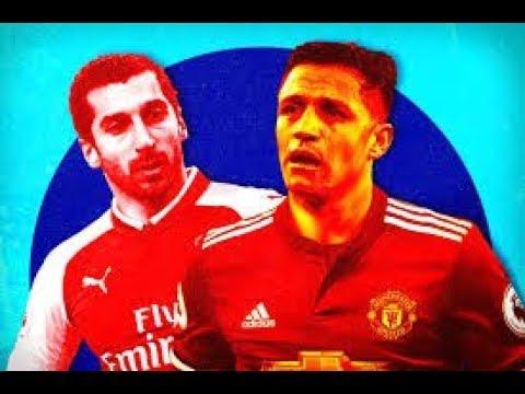 Arsenal Vs Manchester United  I Debut For Mkhitaryan And  Alexis Sanchez I PES 2018