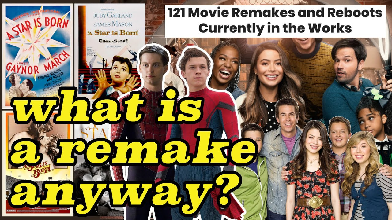 the complicated world of revivals, reboots, remakes, and reimaginings 🎥🍿🎬