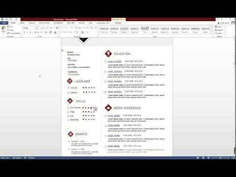 How to edit a resume