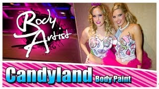 Body Artist - Candyland Body Paint at Opera Ultra Lounge Washington, DC