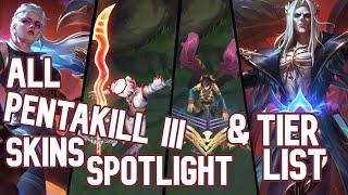 All Pentakill lll Skins Spotlight & Tier List | League of Legends