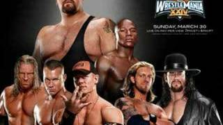 "WWE Wrestlemania 24 Theme ""Snow (Hey Oh)"""