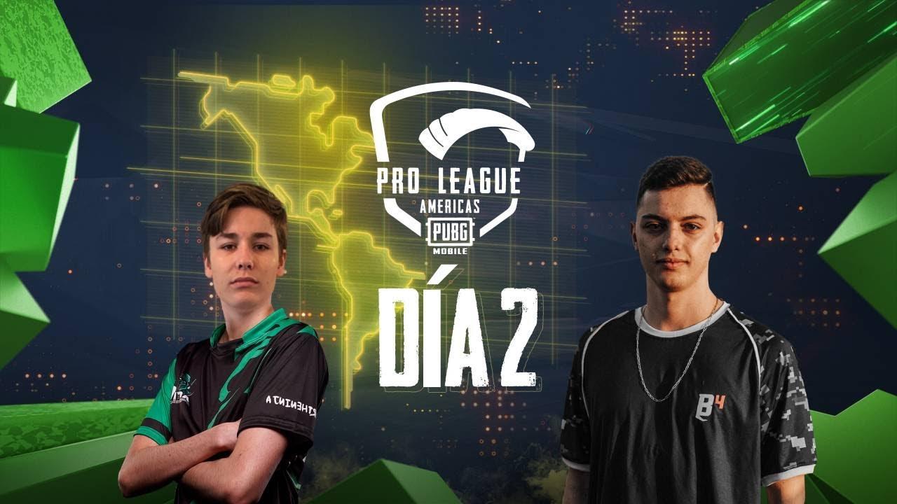 [ES] PMPL Americas Temporada 2 Día 2 | PUBG MOBILE Pro League 2020