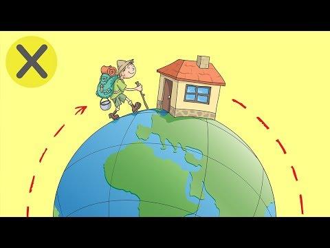 ¿Cuánto tardarías en dar una vuelta al mundo caminando? (PyR)