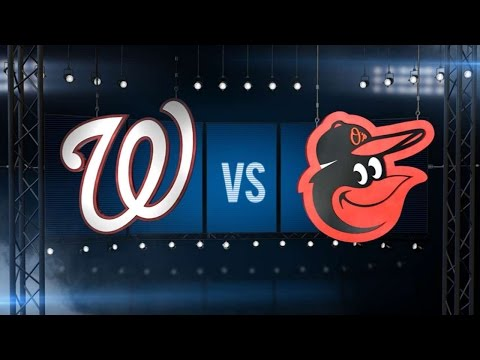 8/23/16: Gausman, Trumbo lead Orioles over Nats