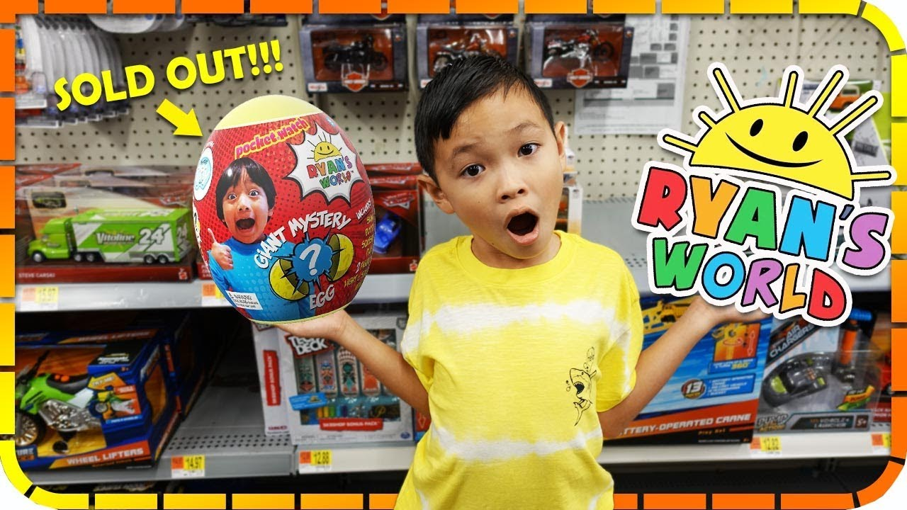 Toy Hunt Ryan S World All Sold Out At Walmart Youtube