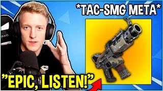 Tfue is FUMING As He Explains Why EPIC Needs To Bring Back *OG* Tac-SMG META!