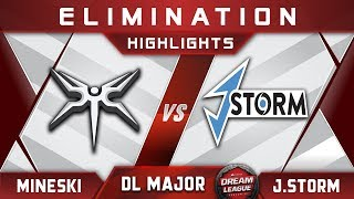 Mineski vs J.Storm [TOP 8] Stockholm Major DreamLeague Highlights 2019 Dota 2