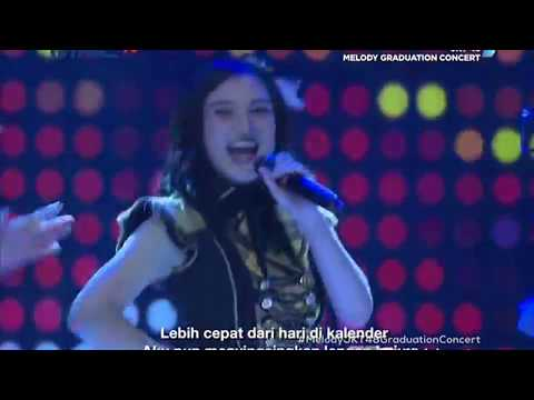 [HD] JKT48 - Ponytail To Shushu @ Melody Graduation Concert (TV Ver.) 180513