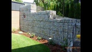 Gabion , plot, oporný múr