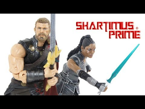 Marvel Legends Valkyrie Thor Ragnarok Movie Target Exclusive 2 Pack Action Figure Toy Review