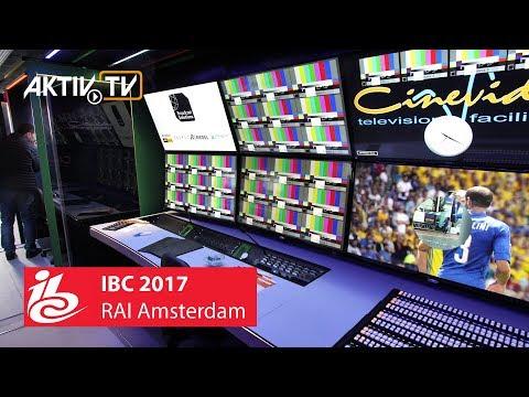 #IBC2017 Amsterdam #RAI • Exhibitor Notes • AKTIV Booth Construction & Film Production