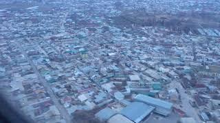Посадка в Душанбе 4K