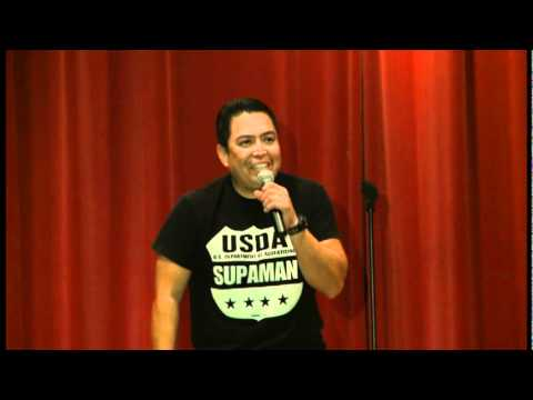 James Junes at Native Comedy All Stars