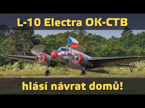 airZone.TV - 28. 5. 2015 - L-10 Electra hlásí návrat domů! (www.airzone.tv)