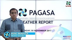 Public Weather Forecast Issued at 4:00 AM November 5, 2017