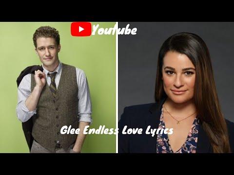 Glee Endless Love Lyrics
