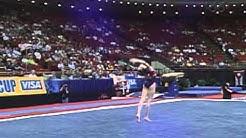 Verona Van De Leur - Floor Exercise - 2002 Visa American Cup
