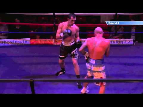 Moonan V McCauley - Blackpool, 15th November 2013