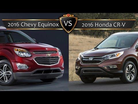 2016 Chevy Equinox vs. Honda CR-V: By the Numbers