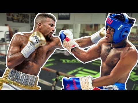 BADOU JACK vs KSI (EXCLUSIVE)