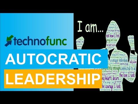 Autocratic Leadership - Leadership Skills
