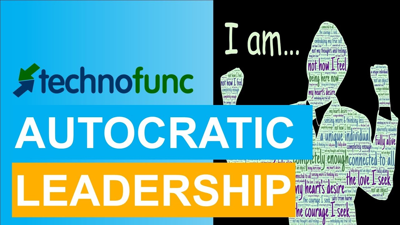the autocratic style of leadership Is an autocratic style of coaching more effective than a democratic one  link  between these angry outbursts and a directive, autocratic style of leadership and .