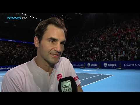 Federer: 'I Think It Was My Best Performance This Week' In Basel 2018