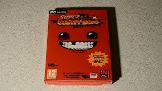 Распаковка Super Meat Boy - Ultra Edition