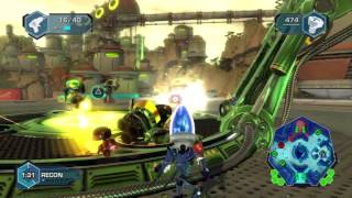 Ratchet & Clank: Full Frontal Assault / Q-Force - Multiplayer - Part 1 HD