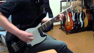 Lost Prophets - Can't Stop, Gotta Date With Hate - (Bass cover)