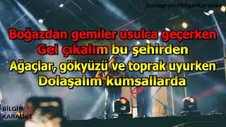 Yüksek Sadakat - Belki Üstümüzden Bir Kuş Geçer (Karaoke) Türkçe