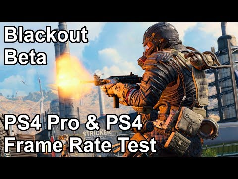 Call of Duty Black Ops 4 Blackout PS4 and PS4 Pro Frame Rate Test (Beta) thumbnail