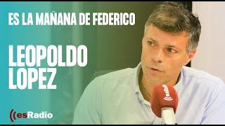 Entrevista a Leopoldo López en Es la Mañana de Federico