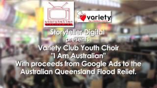I am Australian -  Variety Club Youth Choir Flash Mob  | Storyteller Media thumbnail