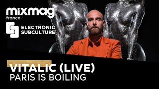 VITALIC: (Paris Is Boiling X Lockdown Festival 2020)