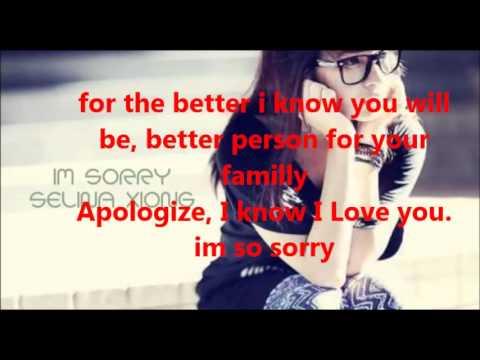I`m Sorry Selina Xion ft.Ky Lyrics On Screen