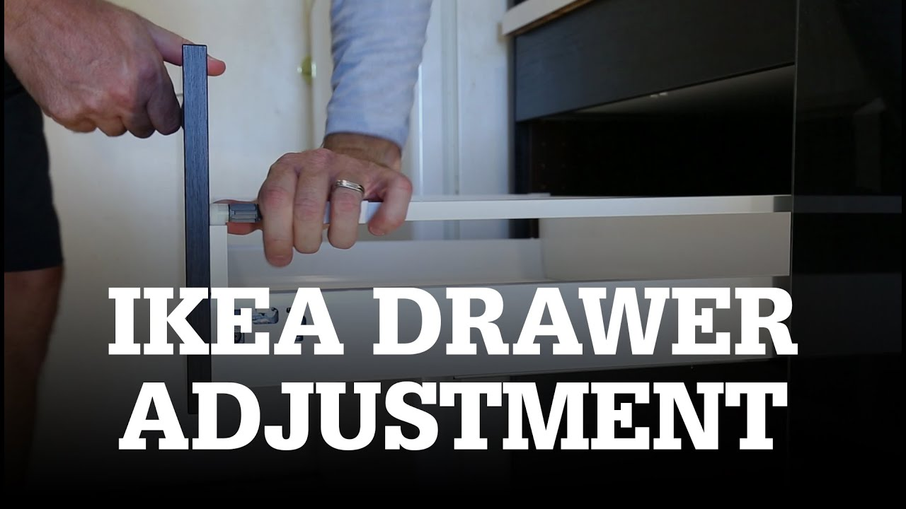 Ikea Faktum Instructions How To Adjust Ikea Drawers