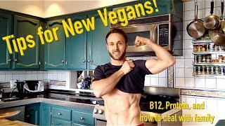 One of Simnett Nutrition's most viewed videos: Advice for New Vegans! (B12, Protein and more)