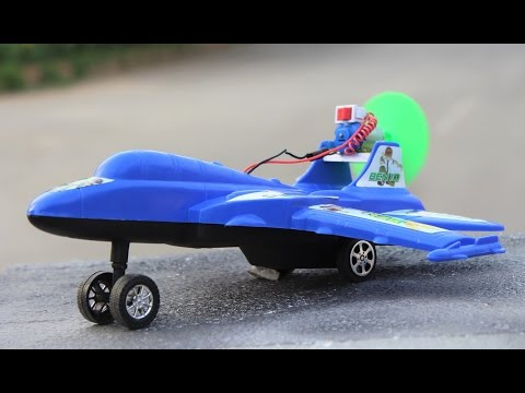 How To Make A Plane - Useful Things From Dc Motor - Toy Plane